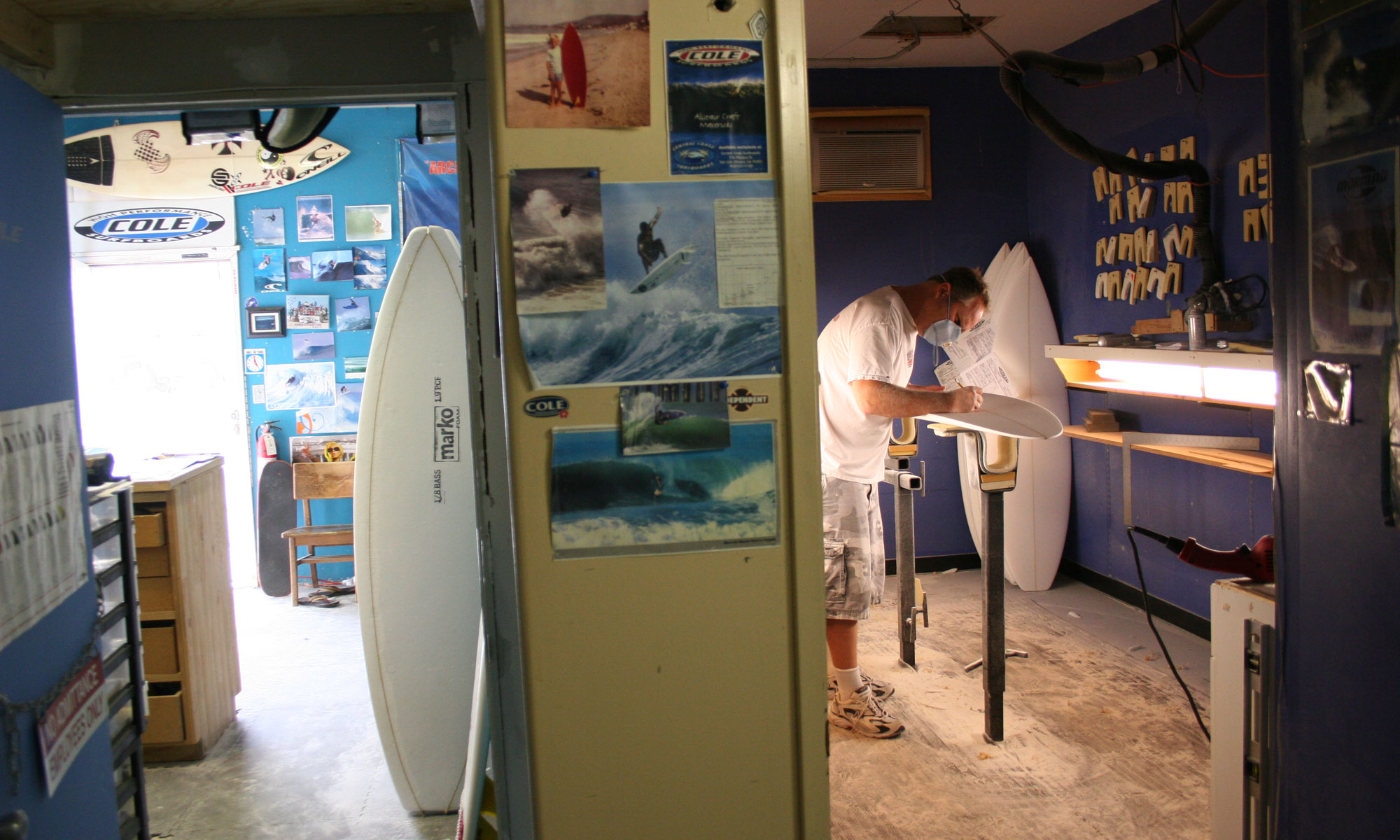 COLE SURFBOARDS | SHAPING BAY