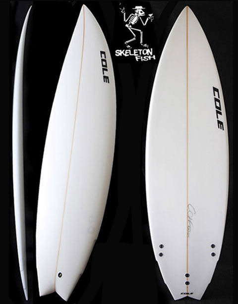 SKELETON FISH | COLE SURFBOARDS