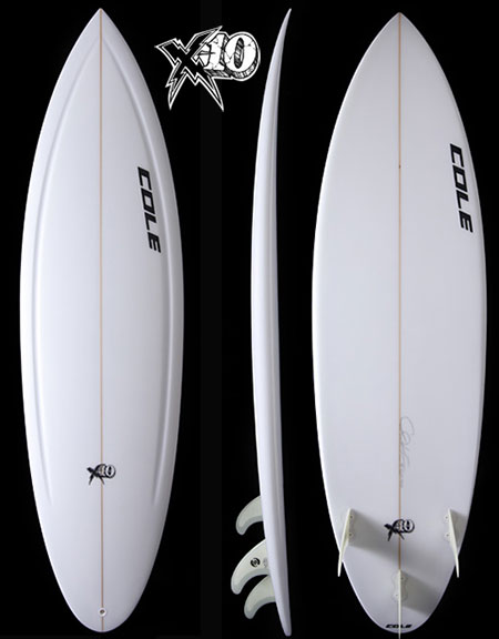 X10 | Cole Surfboards