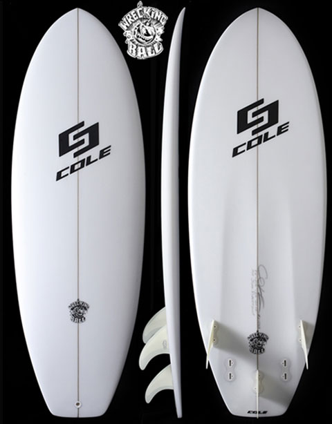 WRECKING BALL | Cole Surfboards